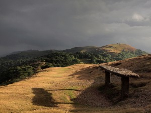 Malvern hills bench by SomeDriftwood